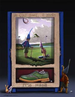 Golf Shoes- La buca!