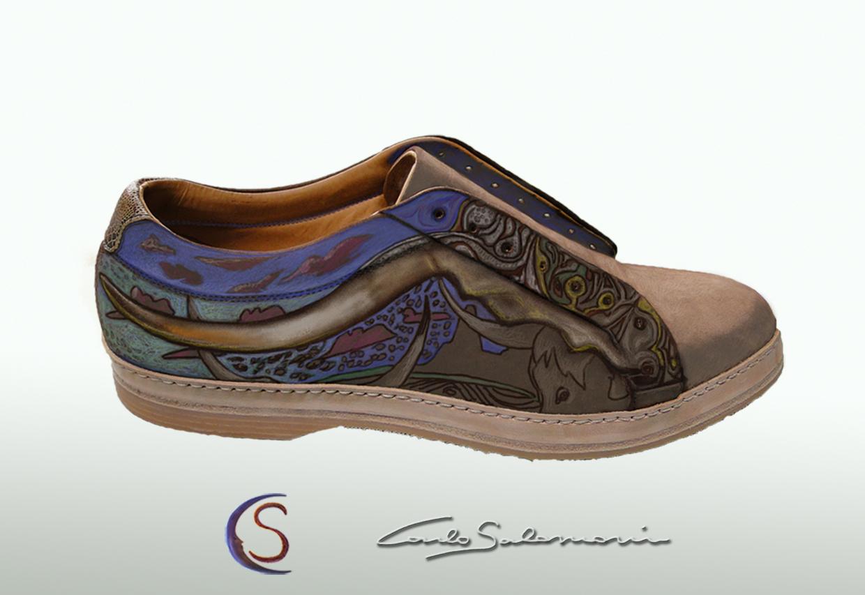 sneaker by Carlo Salomoni