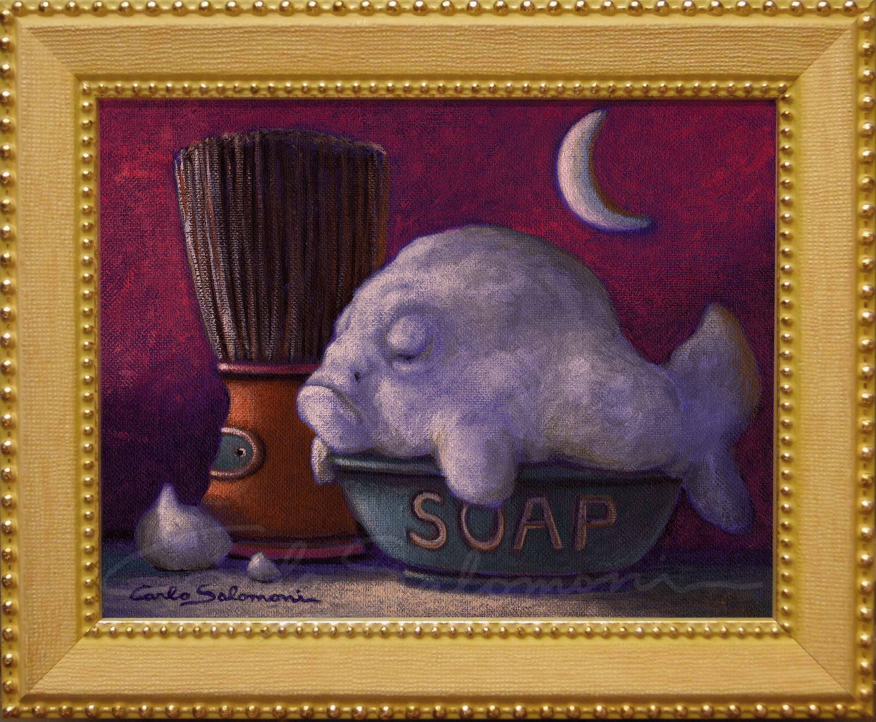 The soap fish.