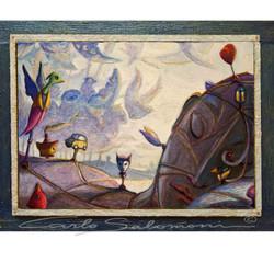 UPWIND DREAMS - ( 33 x 42,5 cm )