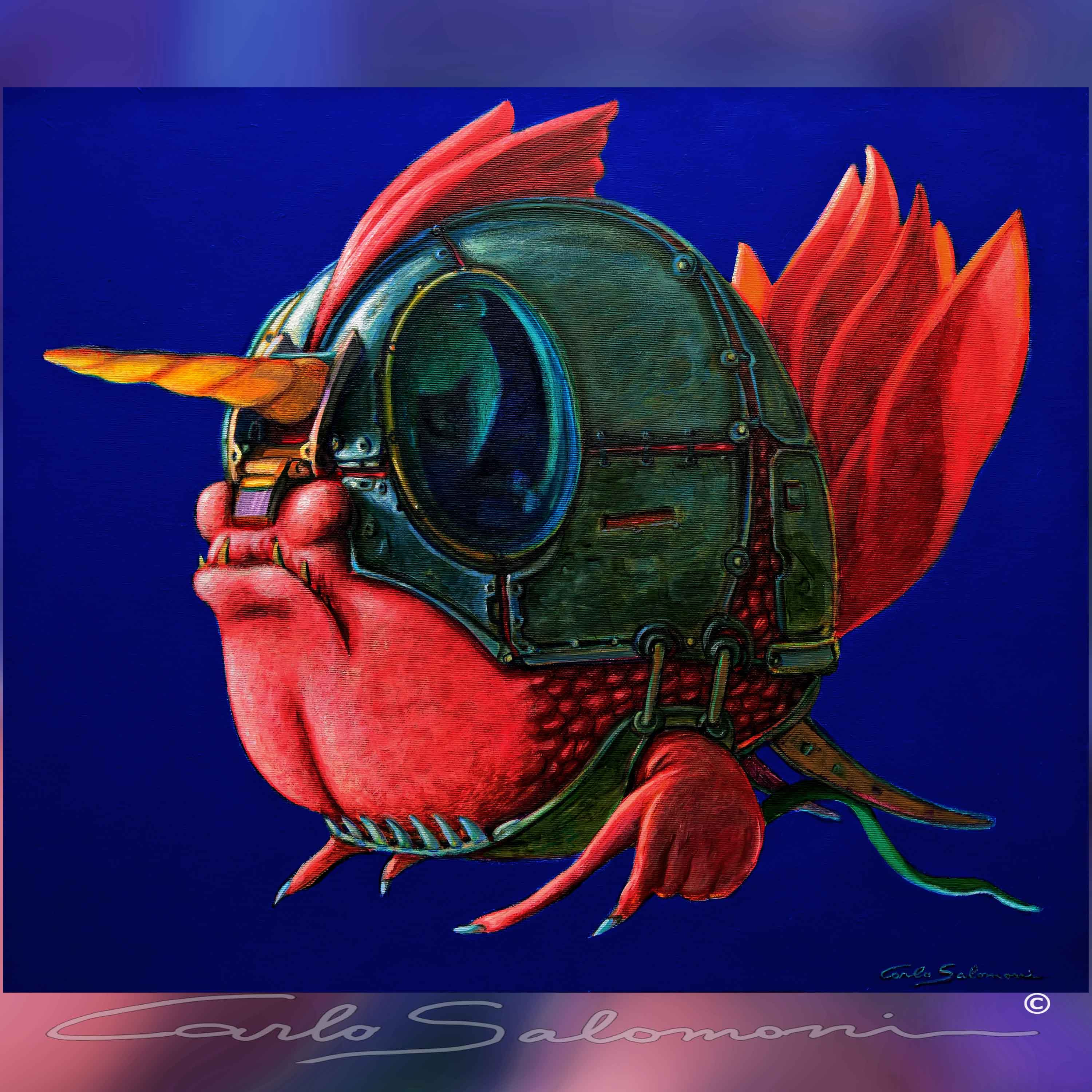 THE WARRIOR FISH