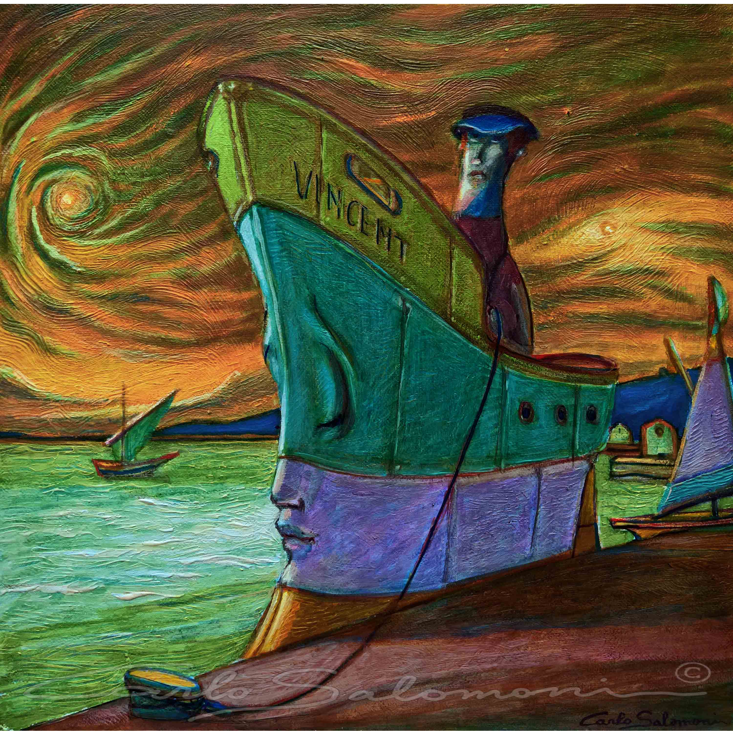 VINCENT, THE SHIP OF DREAMS