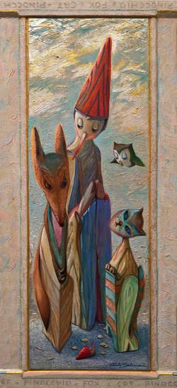 PINOCCHIO, THE FOX AND THE CAT