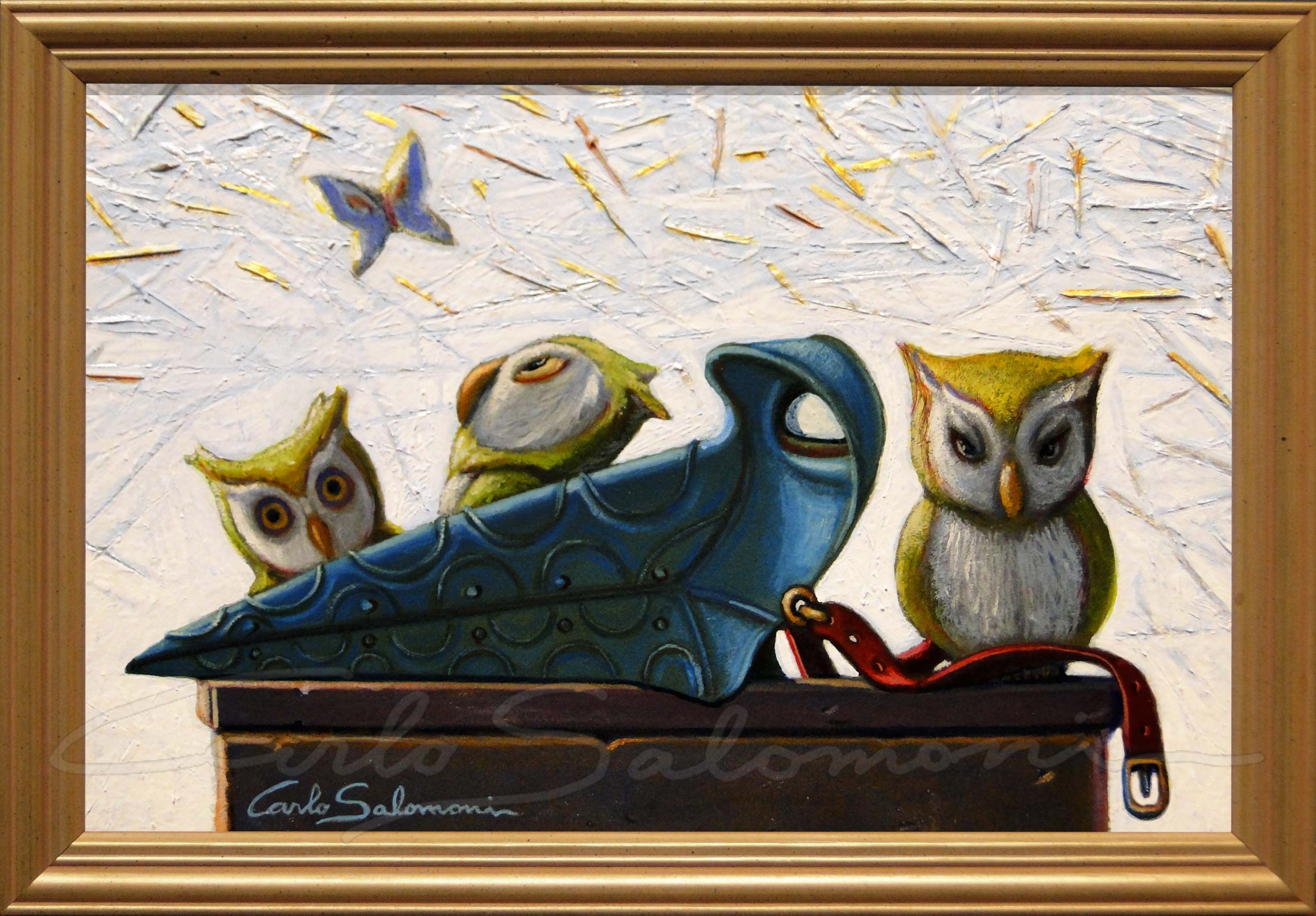 PLAGUE DOCTOR OWLS - 2015