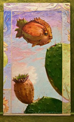 The Prickly Pear Fish .