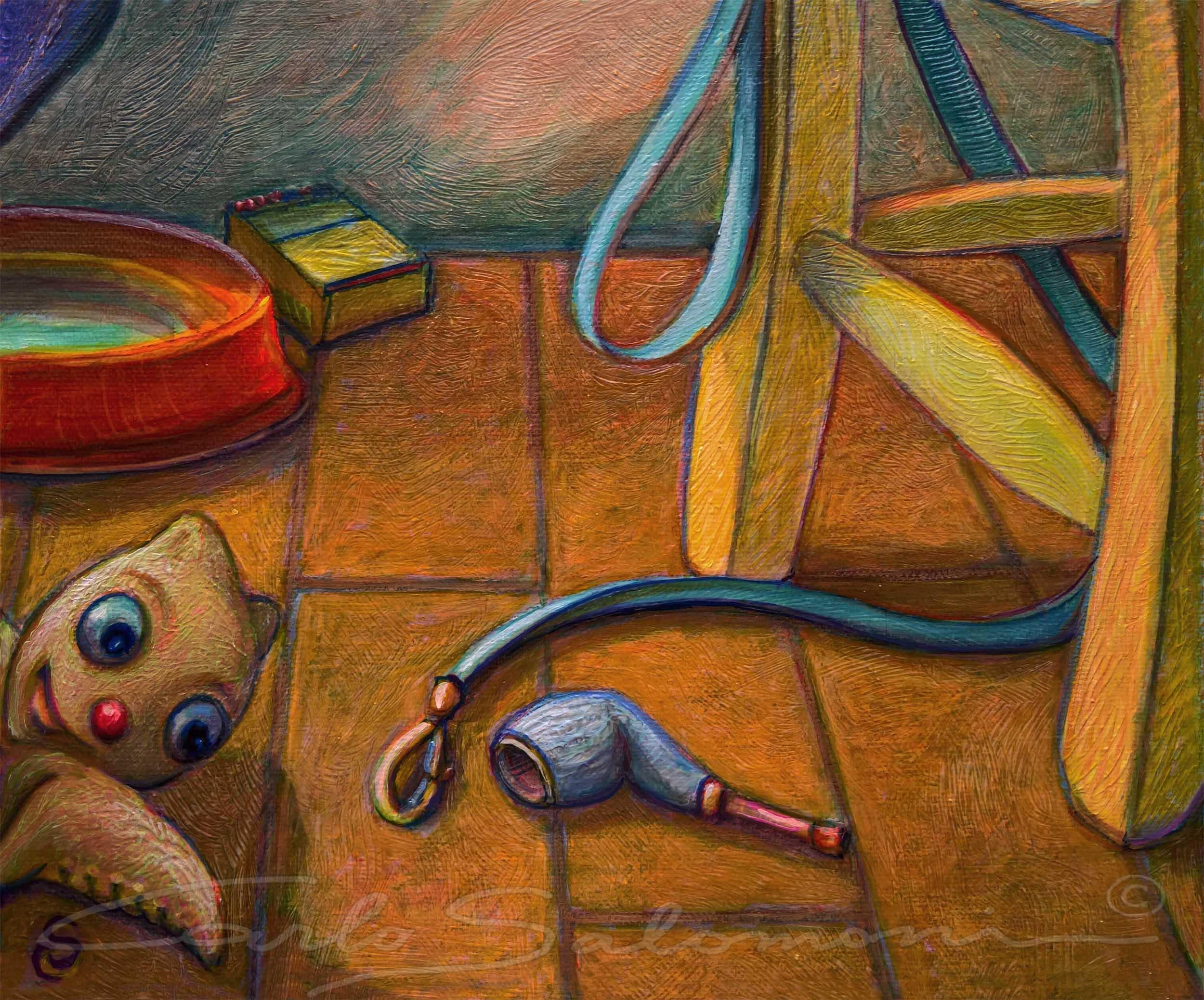 IN THE ROOM OF VAN DOG