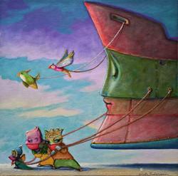 THE DREAM SHIP'S ASSISTANTS - INSTA 1