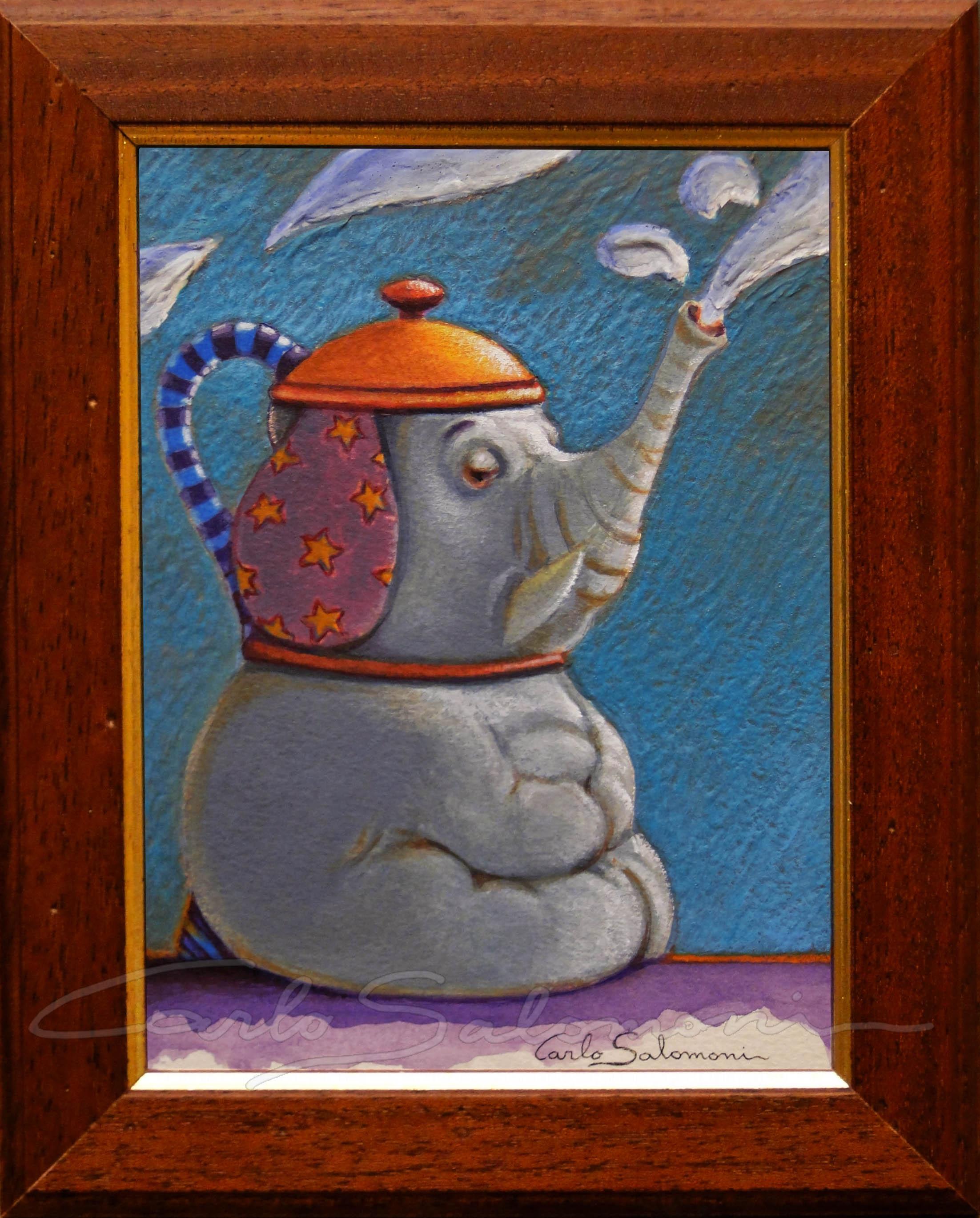 ELEPHANT TEAPOT - 2015 -