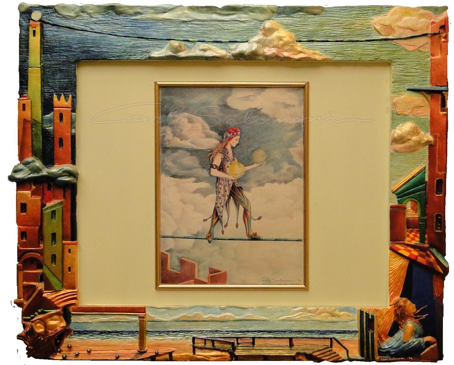 IL FUNAMBOLO - 50x60 cm -1994