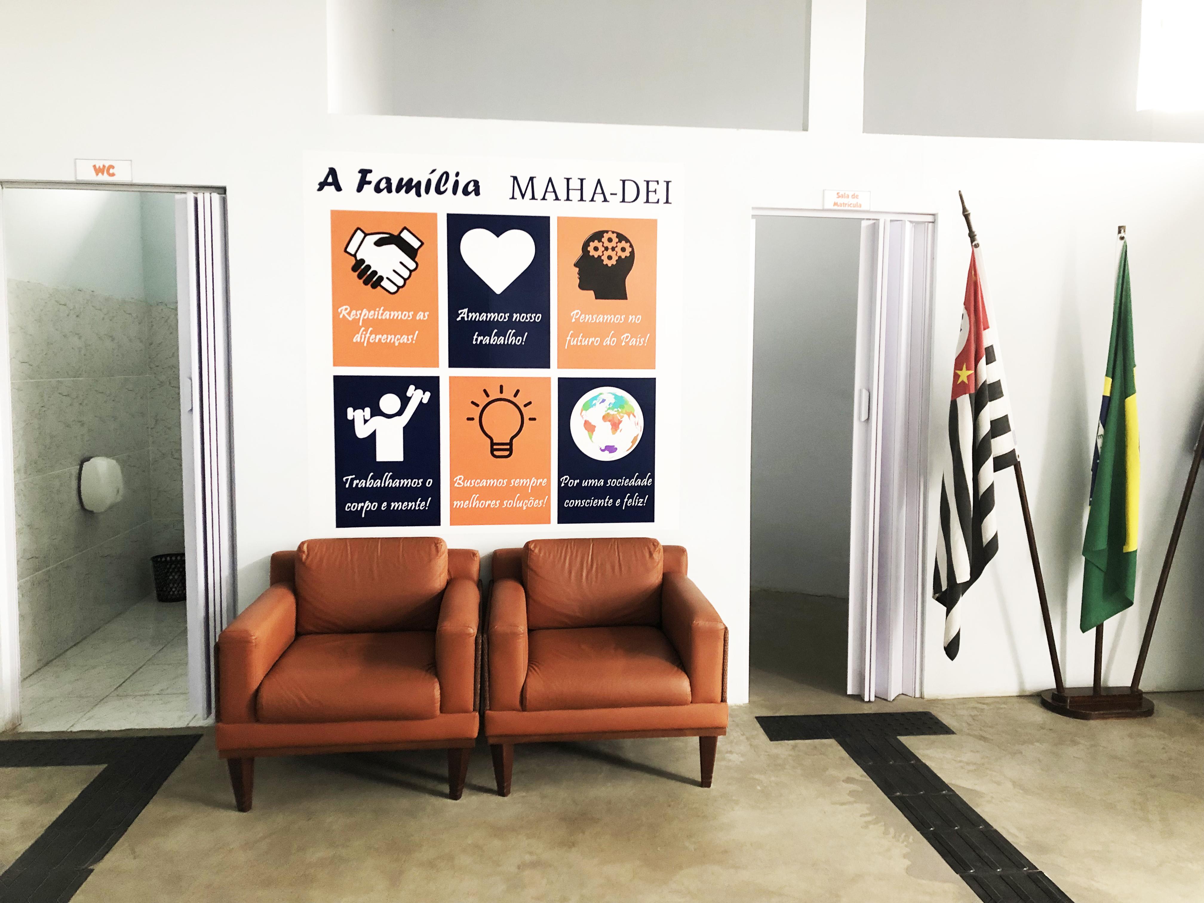 Secretaria - Colégio Maha-Dei