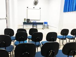 Sala de vídeo - Colégio Maha-Dei