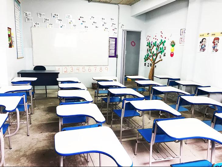 Sala educação infantil - Colégio Maha-Dei