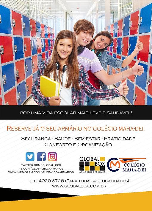 Colégio em Guaulhos - Maha-Dei locação de armário