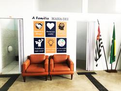 Sala de espera  - Colégio Maha-Dei