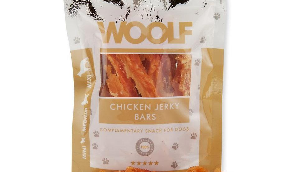 Woolf Chicken Jerky Bars