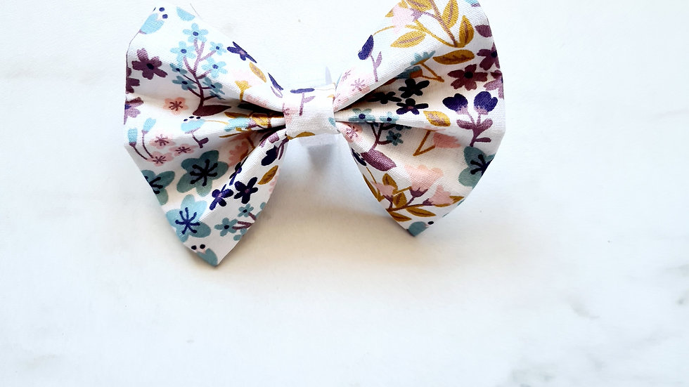 Lilly Floral Bow Tie