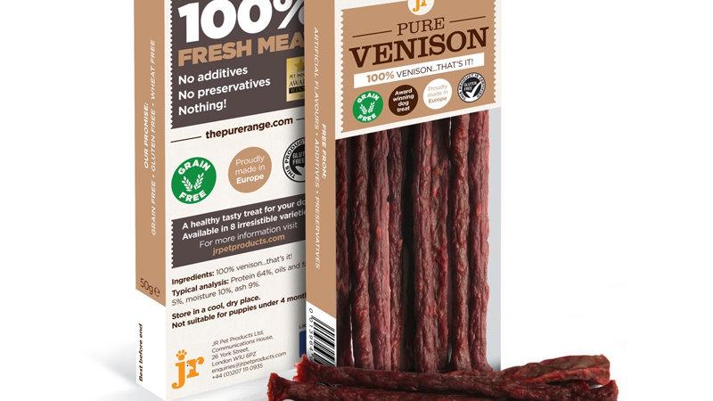 JR Pure Venison Sticks