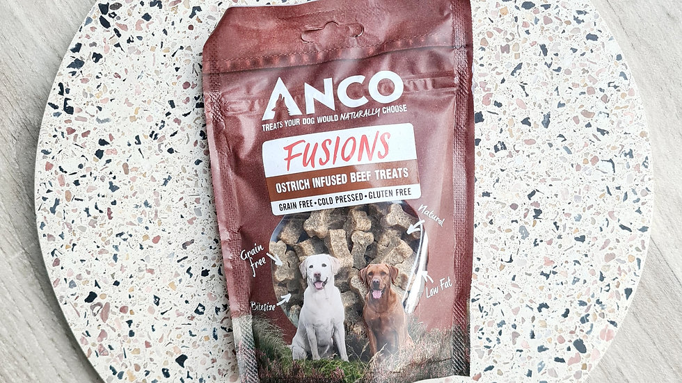 Anco Ostrich Infused Beef Treats