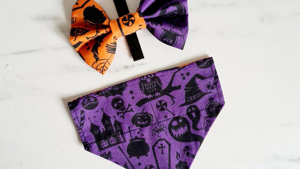 Halloween Reversible Bandana
