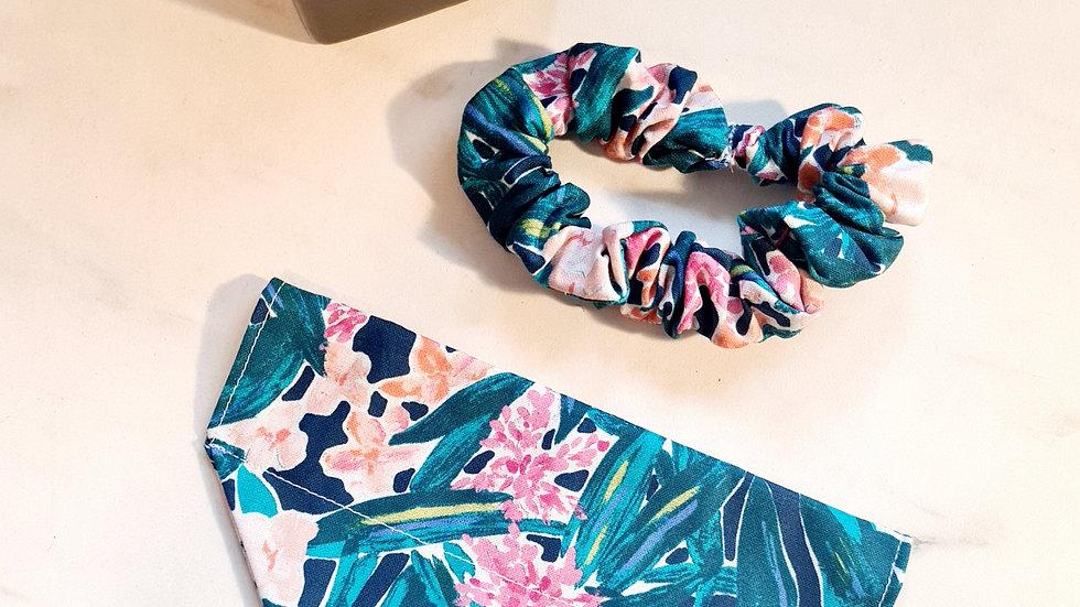Floral Bandana & Scrunchie