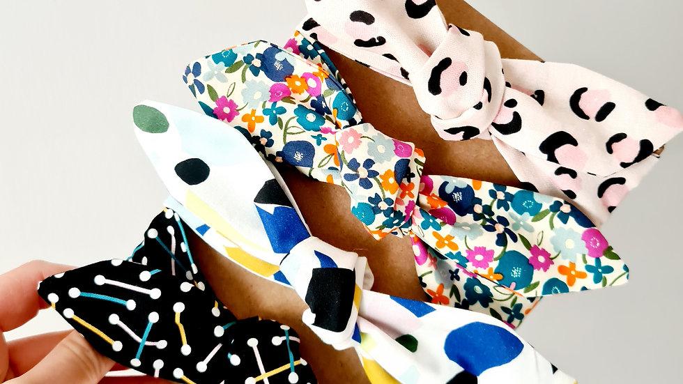Printed Cotton Neckties