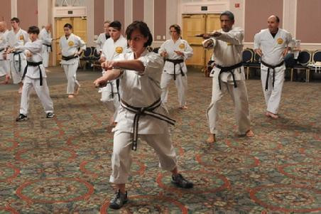 Sara Gadson does Karate with multiple sclerosis