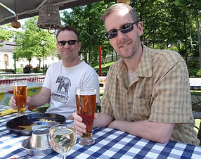 dave with beer and friend mike.jpg