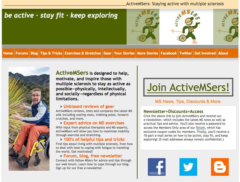 Former ActiveMSers website image
