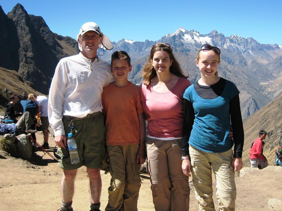 Family in Peru