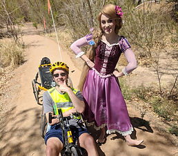 dave with rapunzel princess on trail.jpg