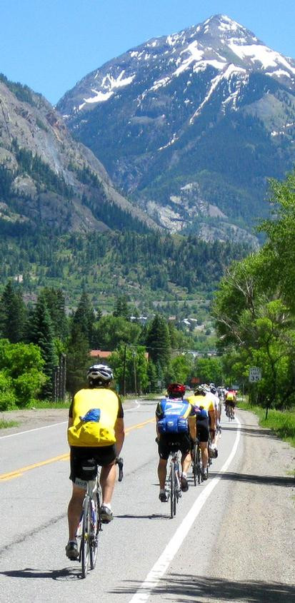 Man with MS rides the MS 150 cycling race Ride the Rockies