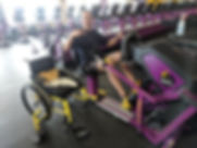 dave on exercise equipment at the gym.jp