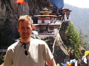 dave trekking in Paro, Bhutan.JPG