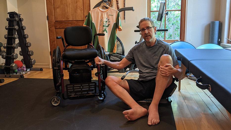 Dave Bexfield tests the IndeeLift patient lift.jpg