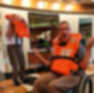 dave on a cruise ship in a wheelchair we