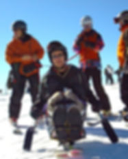 Dave Bexfield of ActiveMSers adaptive skiing with multiple sclerosis