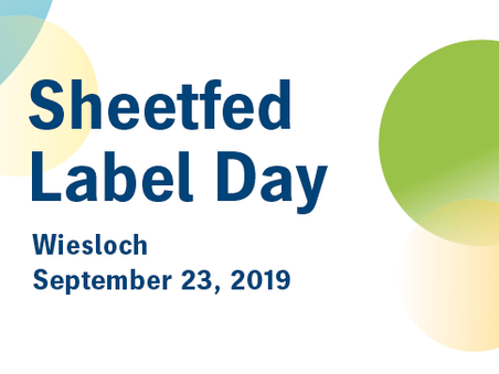 Sheetfed Label Day 2019 - Sep 23, 2019