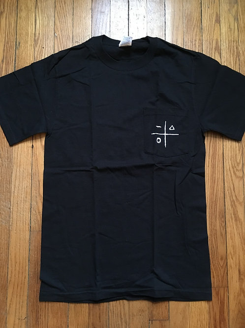 Deliverance Pocket-Tee (Black)
