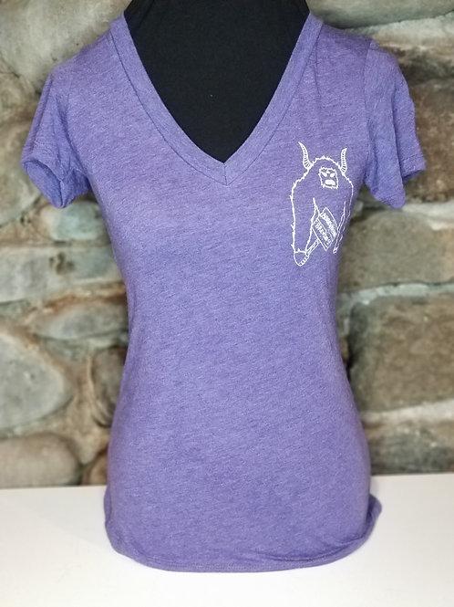 Women's V neck shirt