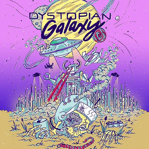 """Dystopian Galaxy"" 8.5"" x 11"" Print"