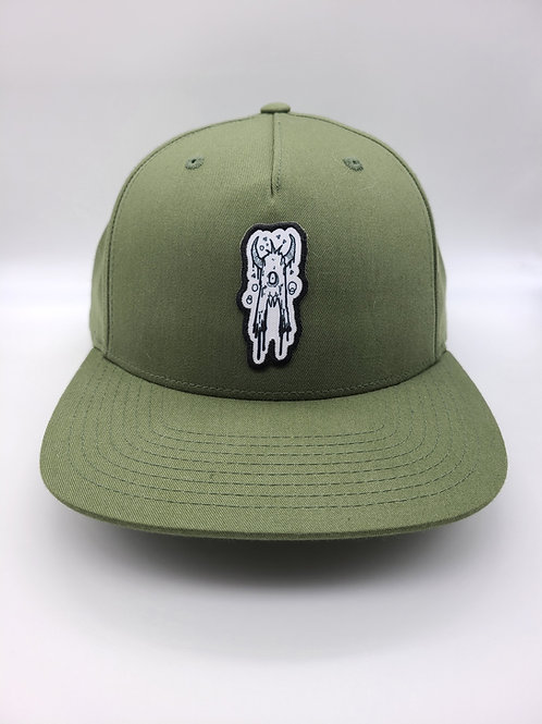 Drippy A Snapback Hat