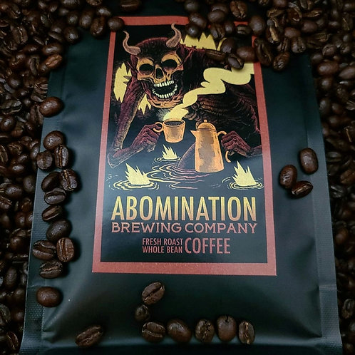 8oz Abomination Coffee Beans