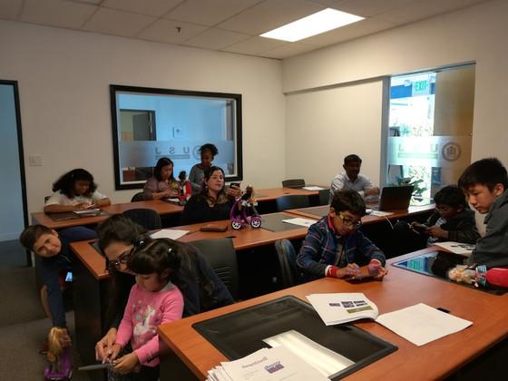SmartGurlz Robotics Class