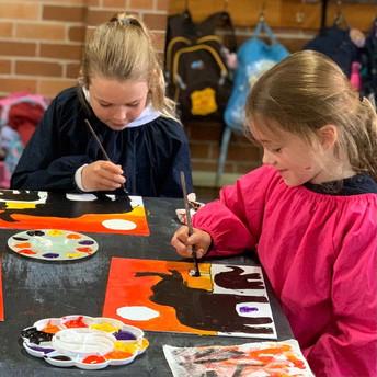 Visual Arts Painting Chatswood Lindfield Kids Circle