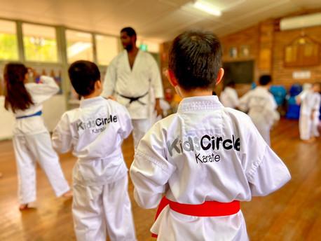 Karate Kids Circele Chatswood Lindfield