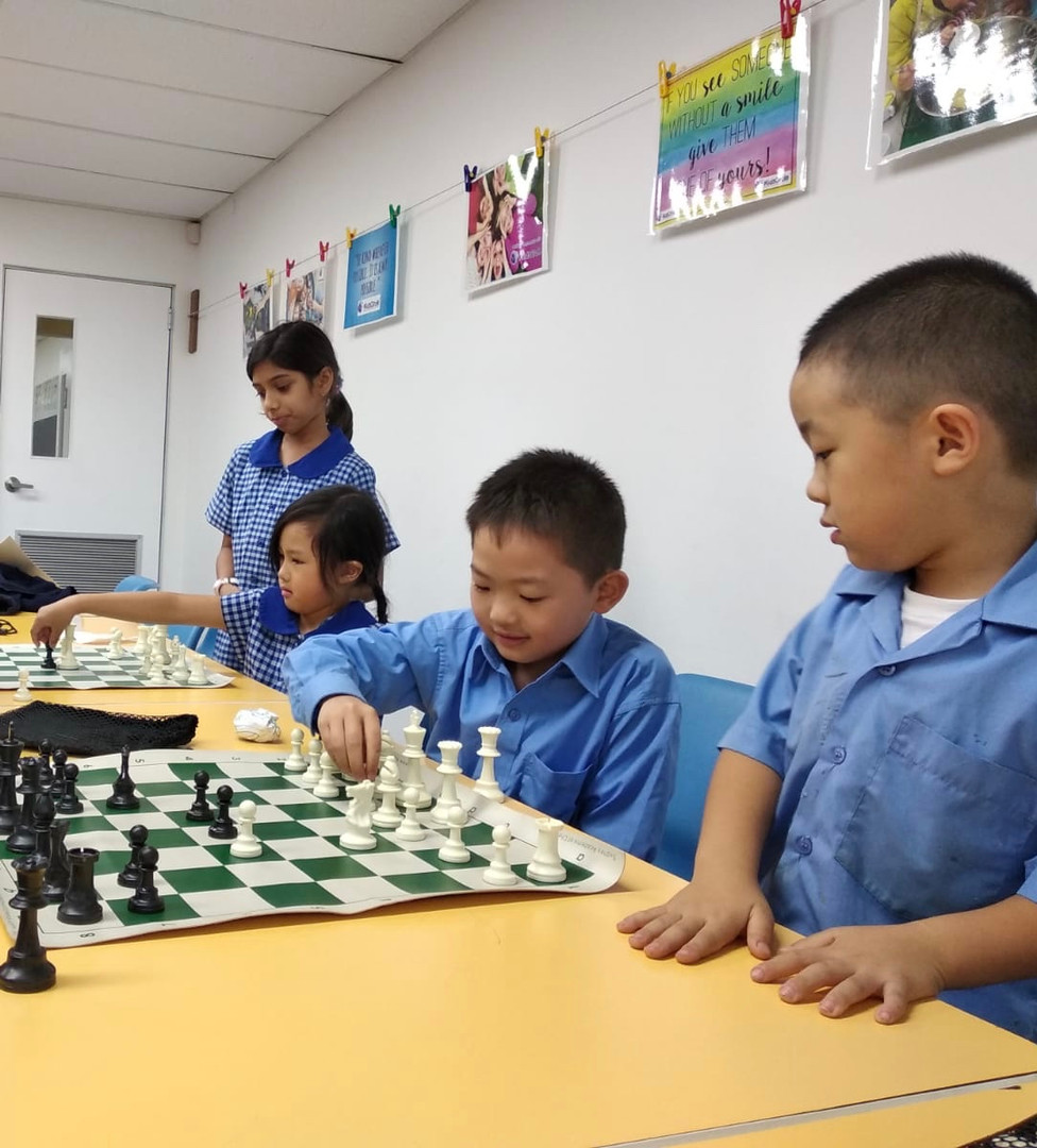 Chess Kids Circle Chatswood Lindfield