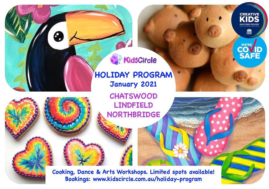 Holidays Flyer - No address (chatswood,