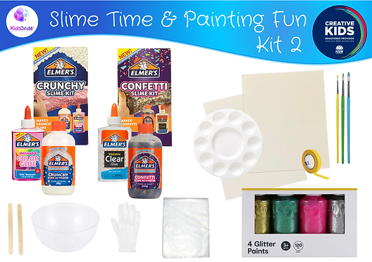 Slime Time and Painting Fun - Kit2