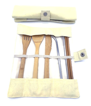 Ultimate Bamboo Cutlery Set