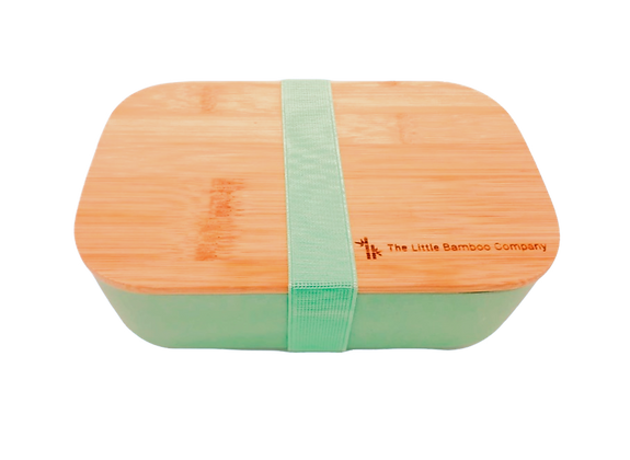 Turquoise Bamboo Lunchbox